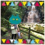 滝とアニーと飼い主